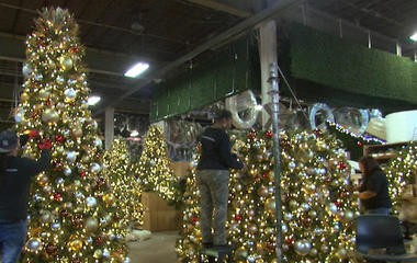 Inside the company that adorns American cities for the holidays