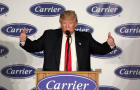 President-elect Donald Trump speaks at an event at Carrier HVAC plant in Indianapolis, Indiana, Dec. 1, 2016.