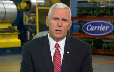 Mike Pence on Carrier deal, Trump's campaign promises