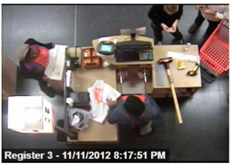 Buchbinder and Nolan Home Depot surveillance video