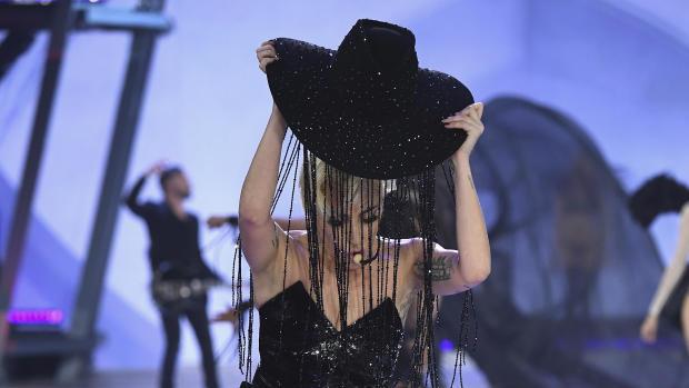 ff289a8b1 Lady Gaga wore a $1 million hat to the Victoria's Secret Fashion ...