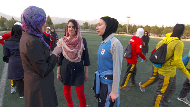 Training to be Iran's next soccer stars