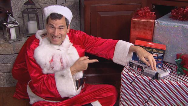 Nintendo Santa Claus