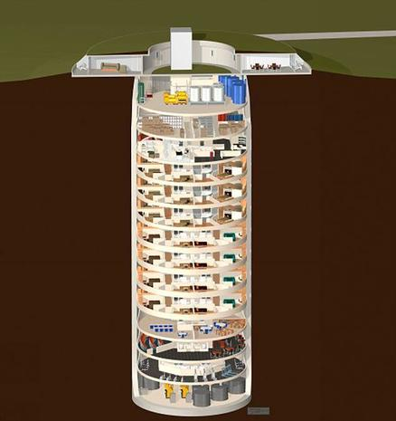 Amazing doomsday bunkers of the super-rich