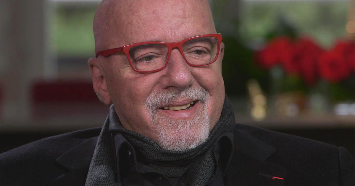 the alchemy of author paulo coelho cbs news