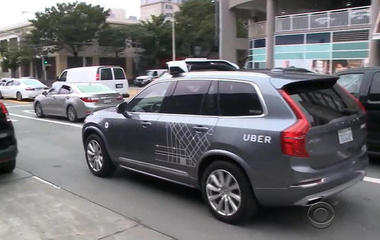 California officials take Uber's self driving cars off the road