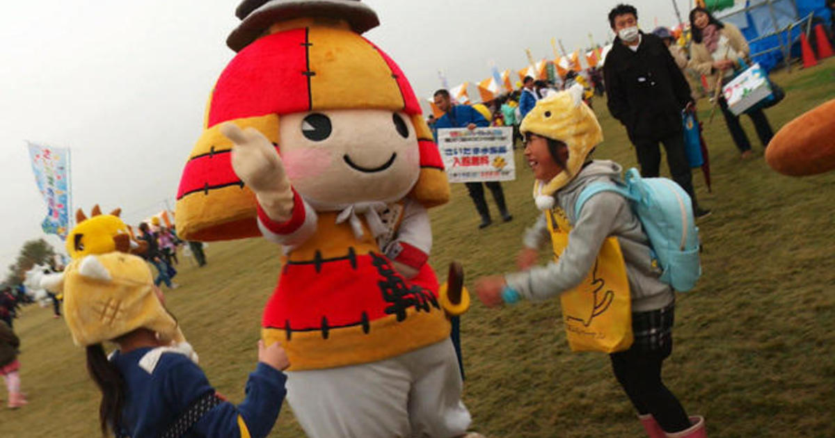 Cute and cuddly mascots generate billions in Japan - CBS News