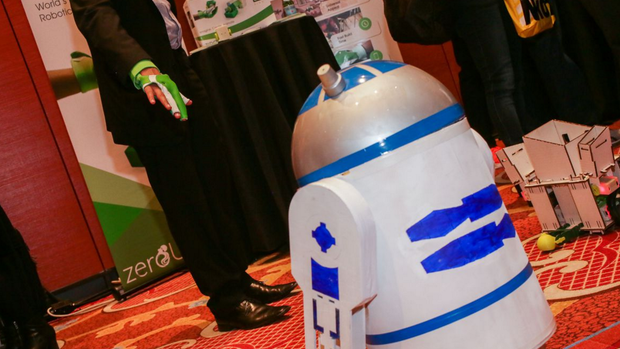 Robots steal the show at CES 2017