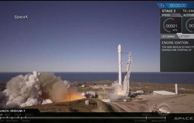 SpaceX celebrates first successful launch after rocket went up in flames
