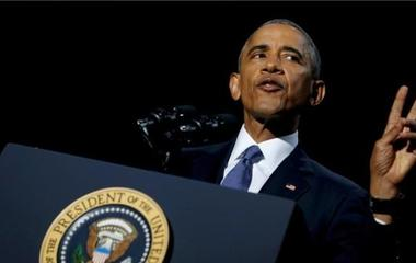 President Obama, one of only 14 presidents to serve two full terms