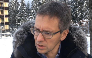 Ian Bremmer says Trump's absence from the World Economic Forum created an opportunity for China