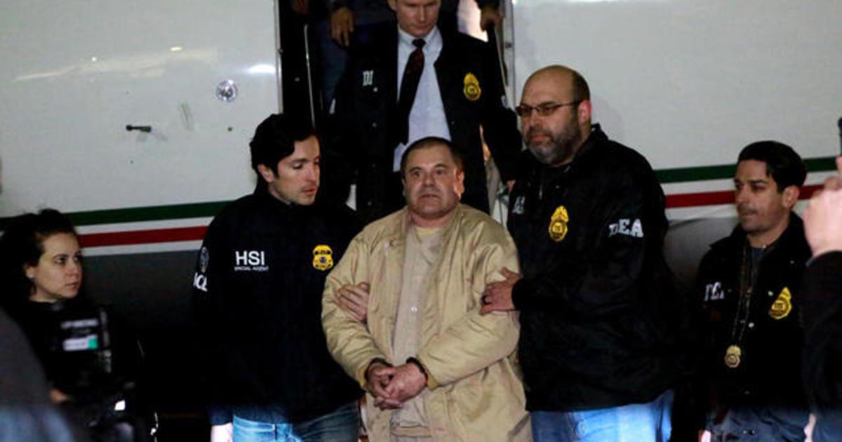 notorious drug kingpin  u0026quot el chapo u0026quot  lands in n y