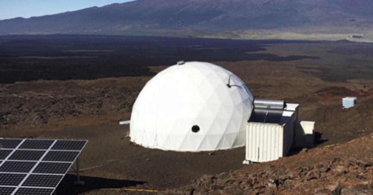 Freeze Dried Food And 1 Bathroom 6 Simulate Mars In Dome
