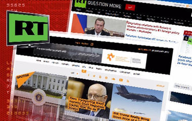 A look inside Russia's anti-American state news service RT