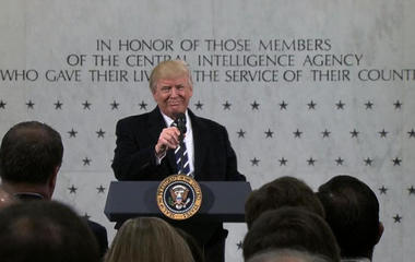 President Trump says media lied about inauguration crowd estimate