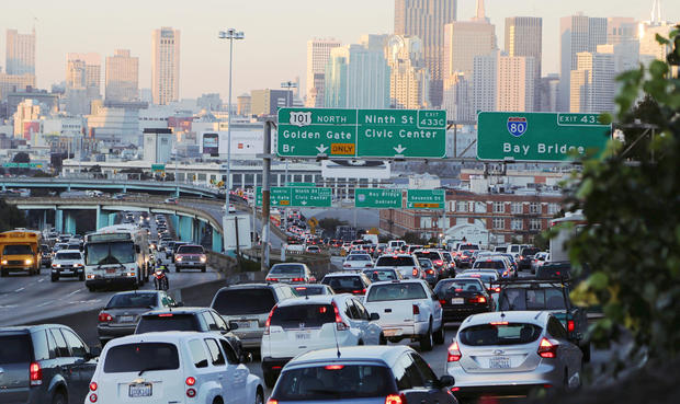 The 9 worst U S  cities to own a car - CBS News