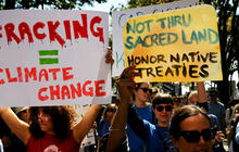 Activist: Dakota Access pipeline could affect water supply of 18 million people