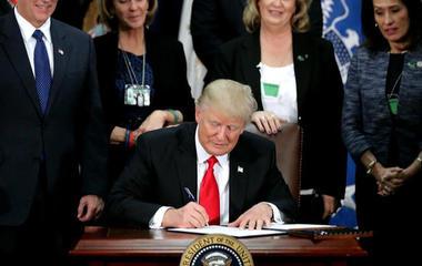 President Trump directives target undocumented migrants