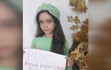 Refugee Bana Alabed begs Trump to save Syrian kids