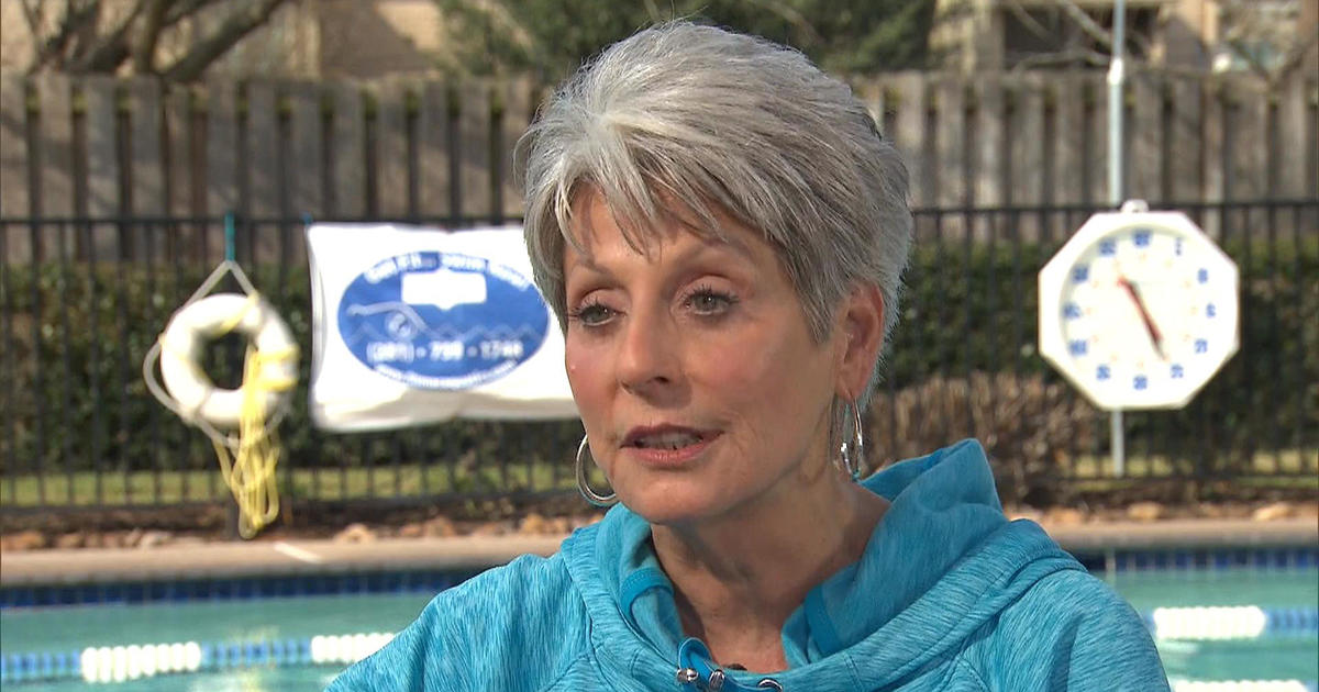 Living Stronger 75-Year-Old Swimmer Inspiring Others With