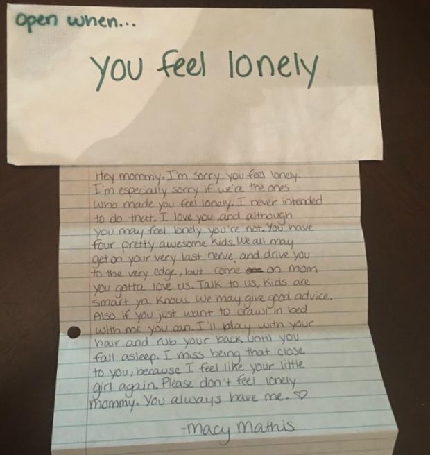 Open When You Miss Me Best Friend Letter