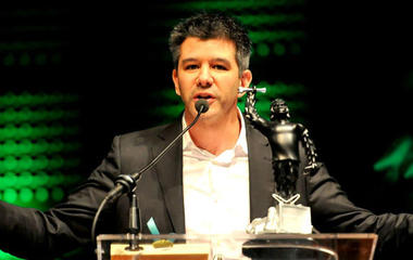 Uber CEO backs out of Trump council after backlash