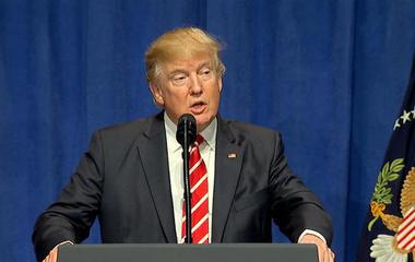 Trump accuses media of covering up terror attacks