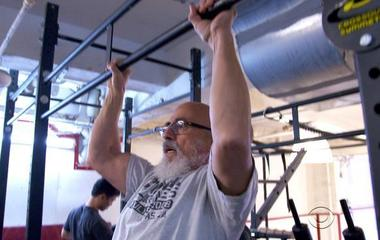Living Stronger: Senior citizen, 77, doing CrossFit with the young ones
