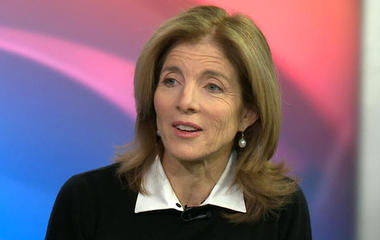 Caroline Kennedy on U.S. relations with Japan, China