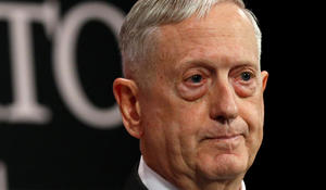 Terrorism no longer the military's top priority, Mattis says