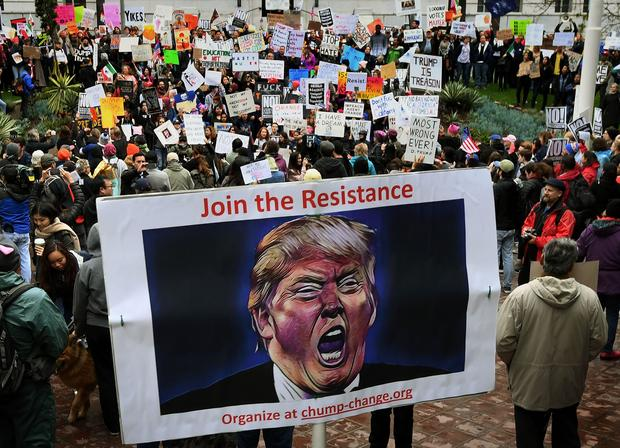 """Not My President's Day"" protests"