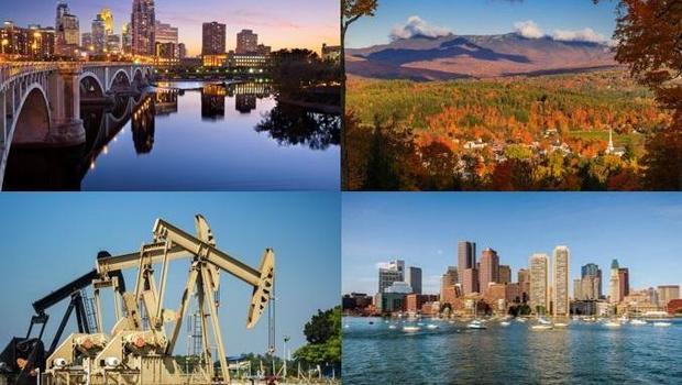 Best states 2017