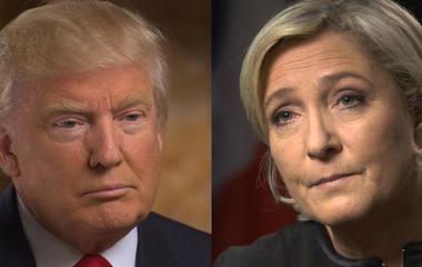 Is Marine Le Pen France's Trump?