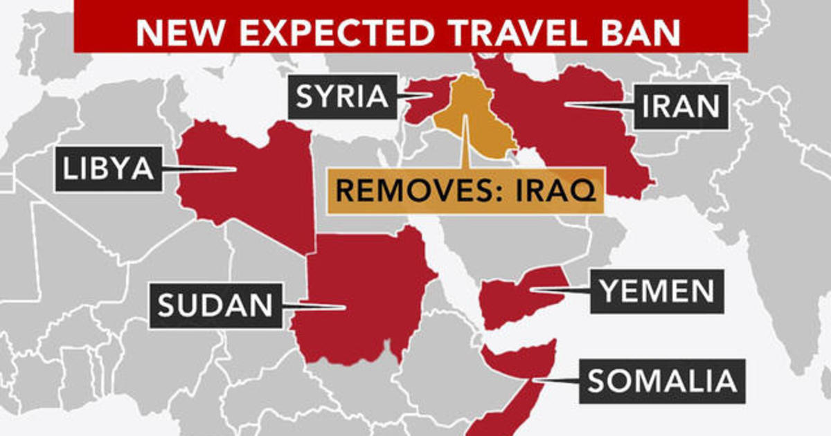 Countries On The Muslim Travel Ban