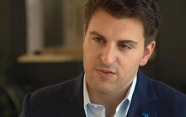 Airbnb CEO on role of women in company's success