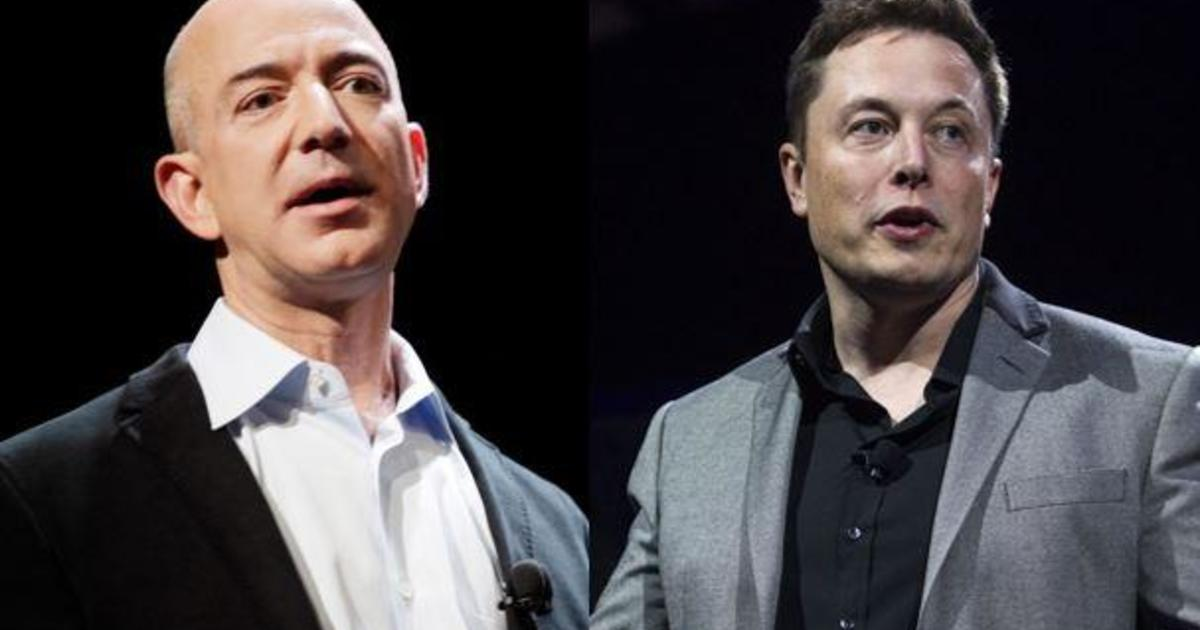 Blue Origin S Jeff Bezos Vs Spacex S Elon Musk Competition For