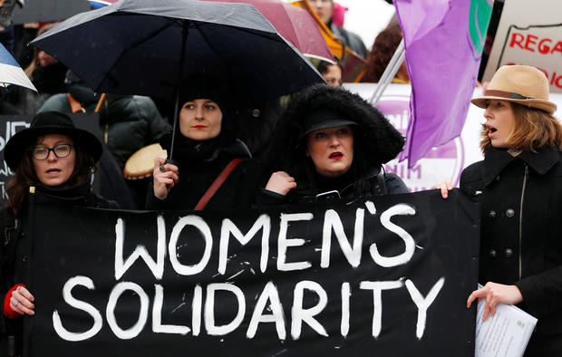 International Women's Day rallies