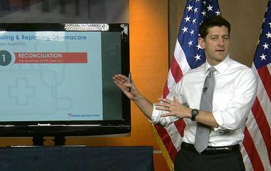 Republicans on defense over health care bill