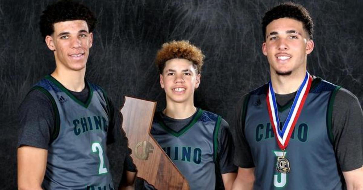 newest c2bac 2497f Ball brothers rule in college and high school basketball