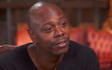 Dave Chappelle's first laugh