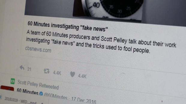 How fake news becomes a popular, trending topic - CBS News