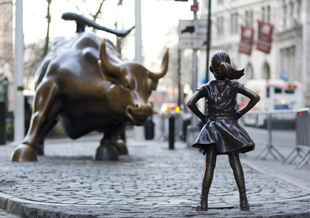 fearless girl statue nyc