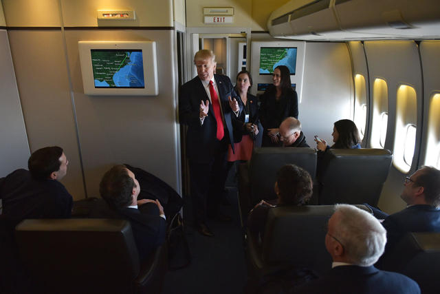 A Photo Tour Of Air Force One Cbs News