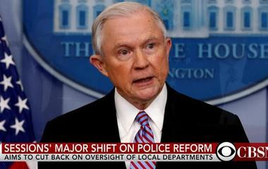 Jeff Sessions wants the federal government out of police reform