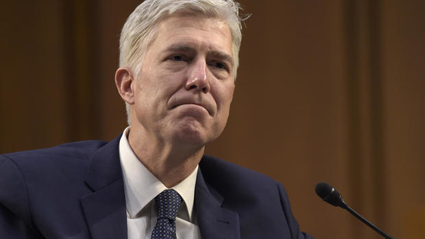 Donald Trump canceled Neil Gorsuch Supreme Court nomination
