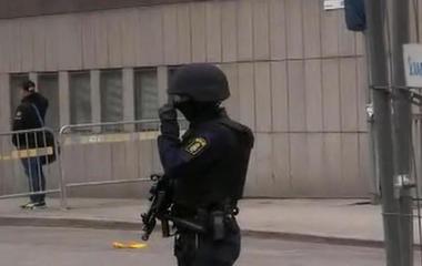 Witness describes truck attack in Sweden
