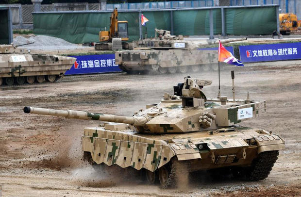 The might of the Chinese military - China's newest weapons