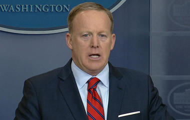 Sean Spicer causes uproar with Hitler gaffe