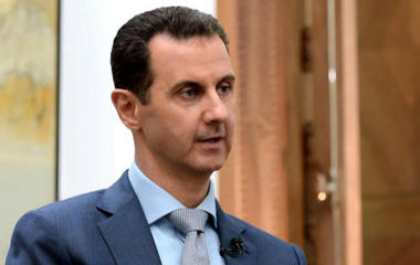 "Syria's Assad says chemical attack is ""100% fabricated"""