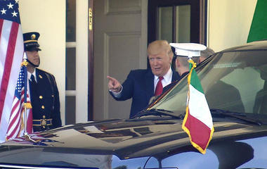 President Trump meets with Italy's Prime Minister